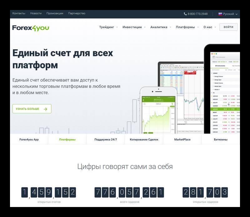 Форекс4ю официальный сайт