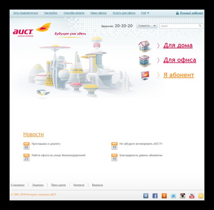 АИСТ официальный сайт